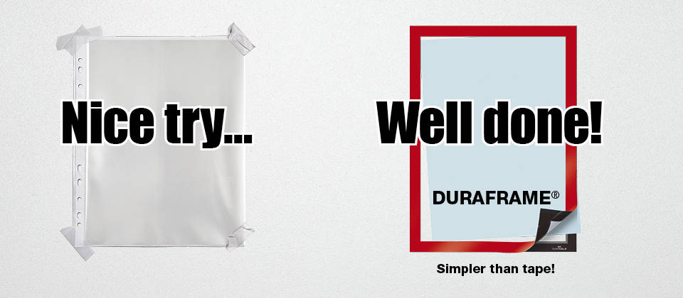 duraframe simpler than tape
